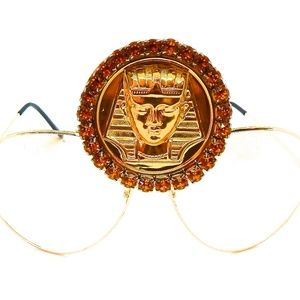 EGYPTIAN GOLD KINGTUT HONEYDUST MEDALLION AVTRS NW